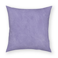 "Solid Purple 18""x18"" Artistic Throw Pillow"