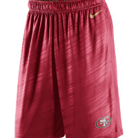 Nike Fly Warp (NFL 49ers) Men's Training Shorts Size XXL (Red)