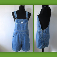 CALVIN KLEIN BiB OVERALLS Shorts  Size Small AdOrabLe DunGaRees for Summer