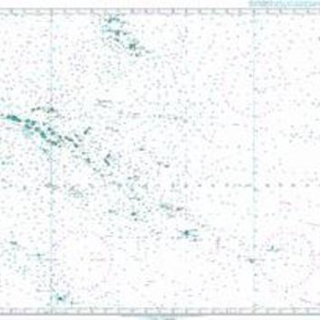 British Admiralty Nautical Chart 4607: outh Pacific Ocean, South East Polynesia