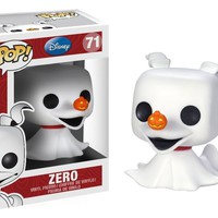 Funko Pop Disney The Nightmare Before Christmas: Zero 71 3406 W/Protect case