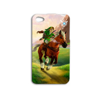 Zelda iPhone Case Link iPod Case Cute Custom iPhone Case iPhone 4 iPhone 5 Case iPhone 4s iPhone 5s iPod 5 Case iPod 4 Case iPod Touch Cover