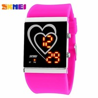 Watches women & men SKMEI 1004  led Digital watch fashion casual reloj hombre Student sport wristwatches relogios femininos
