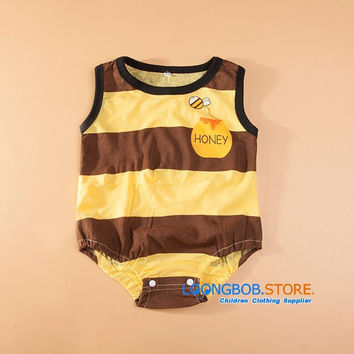 Baby Boys Costume Onesuit: Bee, Penguin, or Cow