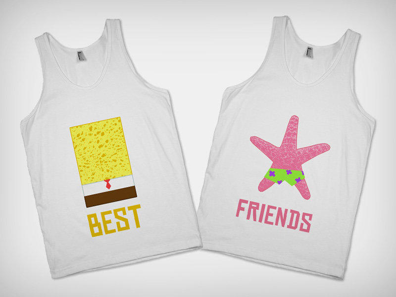 Best Friends T Shirt From Skreened Things I Want As Gifts