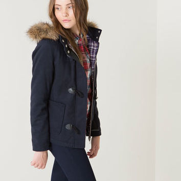 Bershka Netherlands - BSK coloured duffle coat