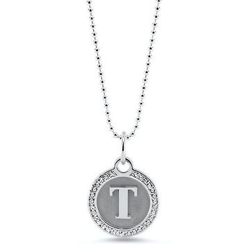 Personalized Initial Diamond Necklace