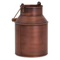 "11"" Pindler Milk Can, Copper, Decorative Pitchers"