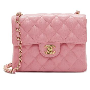 Chanel Caviar Mini Flap Bag (Previously Owned)