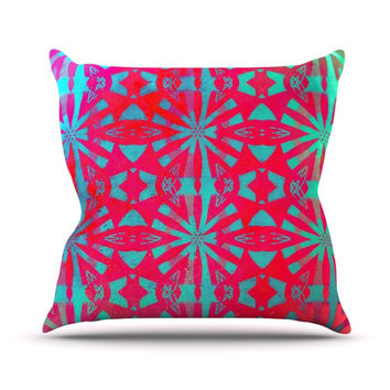 "Alison Coxon ""Aloha"" Throw Pillow"