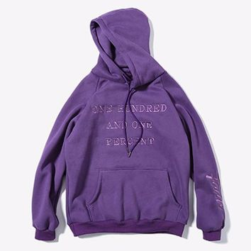"""""""One Hundred And One Percent"""" Hoodie"""