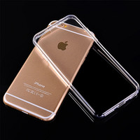 Crystal Clear Ultra Thin Cell Phone Case For Iphone 6 6S 5 5S 4 4S - FREE SHIPPING!!!