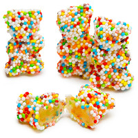 Rainbow Crunch Gummy Bears Candy: 3KG Bag