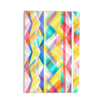 "Miranda Mol ""Triangle Rhythm"" Pastel Geometric Everything Notebook"