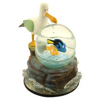 disney parks finding seagull nemo mine mine mine snow globe new