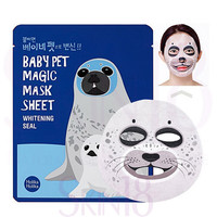 Holika Holika Baby Pet Magic Mask Sheet (Whitening Seal) *exp.date 06/17*