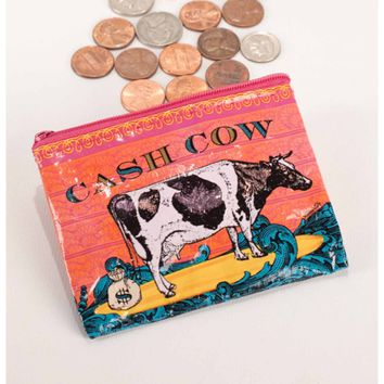 Cash Cow Coin Purse (Also Perfect for Small Makeup Items)