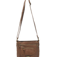 Zip Side Small Crossbody Bag | Wet Seal