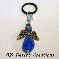 Blue Vaping Angel PV MOD Charm Personal Vaporizer Charm