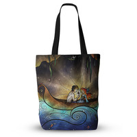 "Mandie Manzano ""Something About Her"" Mermaid Everything Tote Bag"