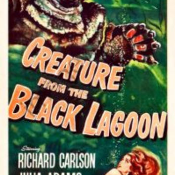 Creature From The Black Lagoon Movie Poster Insert 14x36 #01