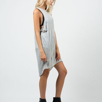 Knitted Open Sides Dress