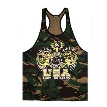 Golds Mens Fitness  Muscle Tank Tops Vest
