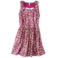 Target : Xhilaration® Juniors Heart Cutout Fit & Flare Dress - Assorted Colors : Image Zoom