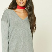 Contemporary V-Neck Sweater
