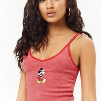 Striped Mickey Mouse Graphic Cami