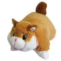 "Chipmunk Zoopurr Pets 2-in-1 Stuffed Animal and Pillow Large 19"" Ultra Soft with Embroidered Eyes"