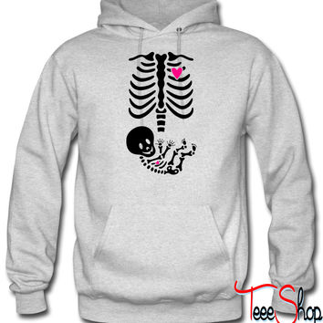Full Maternity Skeleton X ray MP hoodie