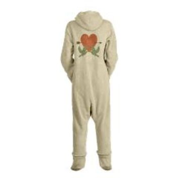 Vintage Love Birds Footed Pajamas> Vintage Love Birds> Holiday Little Treasures