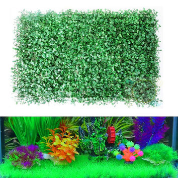 Big Artificial Green Grass Plant Lawn Aquarium Fish Tank Landscape Garden Supplies Acquarium Decoration Ornaments