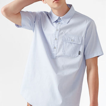 Diamond Supply Co Serif Short Sleeve Button Up Shirt at PacSun.com