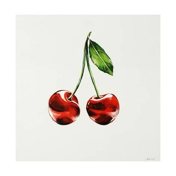Cherry Giclee Print by Sydney Edmunds at Art.com