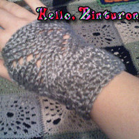 Chevron Lace Gloves