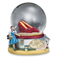 Ruby Slippers Musical Snow Globe