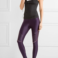 Nike - Power Speed stretch-jersey leggings