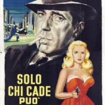 Dead Reckoning Italian Movie poster Metal Sign Wall Art 8in x 12in