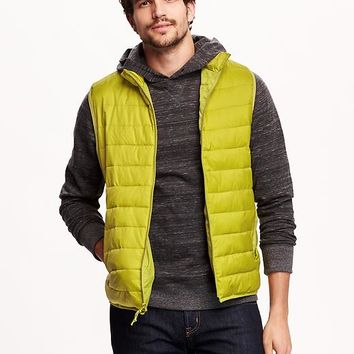 Old Navy Mens Lightweight Quilted Vest