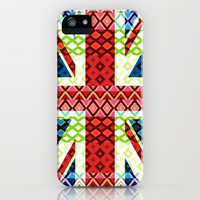 Great Britain Flag #3 iPhone Case by Ornaart