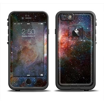 The Mulitcolored Space Explosion Apple iPhone 6 LifeProof Fre Case Skin Set