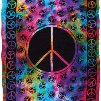 "Peace 72"" x 108"" Tapestry"