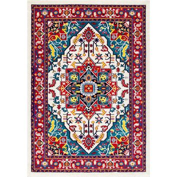 20034 Multi Color Medallion Persian Area Rugs