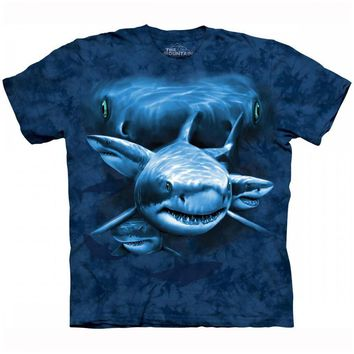 Great White Shark Pack Shark Week Unisex Graphic Tee | DOTOLY