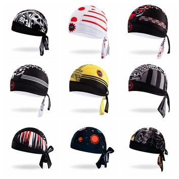 Bike Hats Cycling Helmet Cap Women Men Bicycle bandana pirates scarf Mountain road MTB scarf Team Headband Headwear sports cap