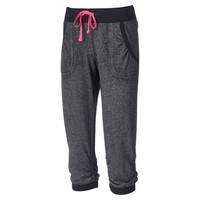 Juniors' Miss Chievous Jogger Capri Sweatpants