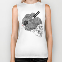 A Lady From Japan Biker Tank by I Am Gao