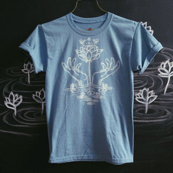 Lotus shirt-  made to order